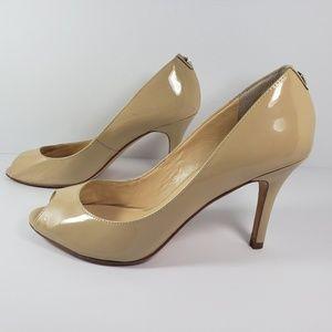 Ivanka Trump Shoes - Ivanka Trump High Heel Shoes Womens 7.5 M Beige
